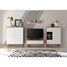 set skandi möbel fürs wohnzimmer cablos 4 teilig