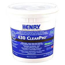 henry 430 1 gal clearpro vct adhesive 12098 the home depot