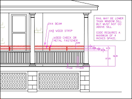 Porch Railing Height, Building Code Vs Curb Appeal How To Calculate Spindle Spacing Install Handrail And Stair Spindles Renovation Ep 4 Removeable Hand Railing For Stairs Second Floor Moving The Deck Barn To Metal Related Image 2nd Floor Railing System Pinterest Iron Deckscom Balusters Baby Gate Banister Model Staircase Bottom Of Best 25 Balusters Ideas On Railings Decks Indoor Stair Interior Height Amazoncom Kidkusion Kid Safe Guard Childrens Home Wood Rail With Detail Metal Spindles For The