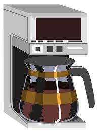 28 Collection Of Coffee Maker Clipart