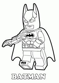 Lego Coloring Pages Batman