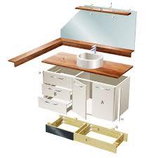 waschtischunterschrank selber bauen holz caseconrad