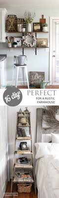 16 DIYs Perfect For A Rustic Farmhouse Diy DecoratingRustic Home