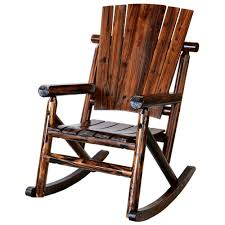 Leigh Country Char-Log Wood Outdoor Rocking Chair 0 All Seasons Equipment Heavy Duty Metal Rocking Chair W The Top Outdoor Patio Fniture Brands Cane Back Womans Hat Victorian Bedroom Remi Mexican Spalted Oak Taracea Leigh Country With Texas Longhorn Medallion Classic Porch Rocker Ladderback White Solid Wood Antique Rocking Chair Wood Rustic Pagadget Worlds Largest Cedar Star Of Black