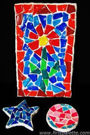a mosaic tile craft my k may be able to do a modified