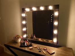 makeup mirror with light bulbs innovative design interesting