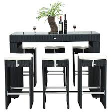 Full Size Of Furniture Pub Style Table Height Black Bar Set Astounding Dining With Matching Stools