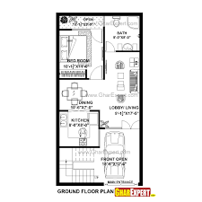 20x40 House Plan 3d House Plans In 2019 20x40 House