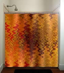 Chevron Print Bathroom Decor by Best 25 Orange Bathroom Decor Ideas On Pinterest Orange
