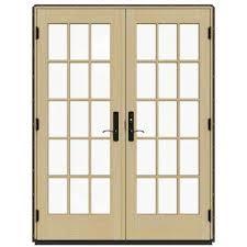 Masonite Patio Doors Home Depot by Brown Patio Doors Exterior Doors The Home Depot
