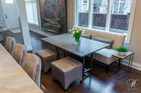 Crypton Home Fabric Was The Perfect Choice For This Kitchen As Well An Adjacent Eating Area Not