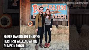 Roloff Pumpkin Patch by Ember Roloff Enjoys Her First Pumpkin Patch Outing With Her