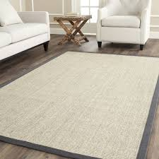 Safavieh Casual Natural Fiber Hand Woven Serenity Marble Grey Sisal Rug 9 X 12 By
