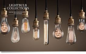 light bulbs with visible filament iron