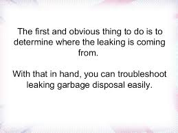 Garbage Disposal Leaking From Bottom Screws by Garbage Disposal Leaking Easy Steps To Fix It