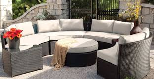 Sams Club Patio Furniture by Patio U0026 Pergola Perfect Circle Outdoor Sectional Sofa With Round