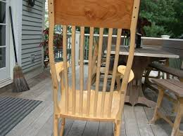 Maloof Rocking Chair Joints by Maple Rocker Sam Maloof Inspired Finewoodworking