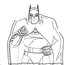 Epic Coloring Pages Batman 44 On Online With