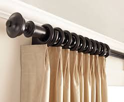 Kirsch Decorative Wood Drapery Hardware Poles In Curtain Rods Ideas 0