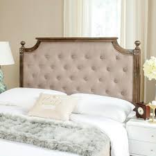 bedroom magnificent fabric headboards for queen beds cloth