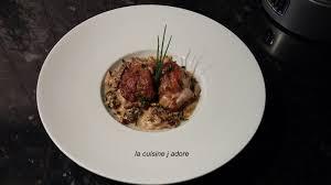 cuisiner les morilles la cuisine j adore ris de veau croustillant morilles a la creme