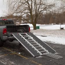 100 Truck Bed Ramp How To Load A Snowmobile Into A Discountscom
