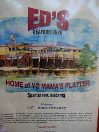 welcome to ed s seafood shed mobile alabama here there and