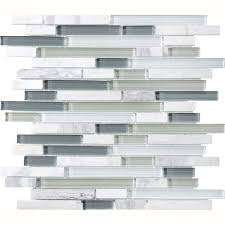 eternity linear glass and mosaic tile sticks of