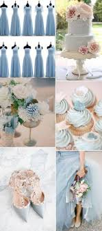 Dreamy Dusty Blue Winter Wedding Inspiration Pinterest