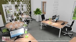 bureau partagé beclectic space design and 2d 3d imagery beclectic design d