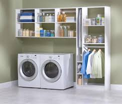 how to organize a laundry room closet