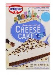 dr oetker cheesecake chocolate kuchenmischung 355g kaufen bei lieferello