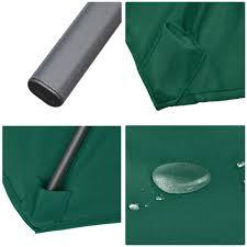 9 Ft Patio Umbrellas With Tilt by 8 U0027 Ft Patio Umbrella Aluminum Crank Tilt Deck Sunshade Cover