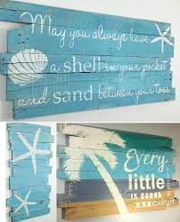 Beach Paintings On Wood Beachblissdesigns