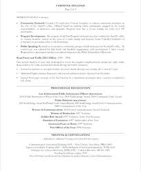 Communications Resume Examples Manager Old Version Marketing