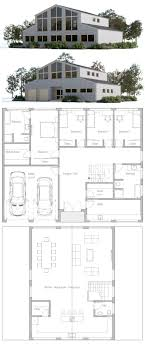 100 Modern Houses Blueprints Strange Modern House Plans Architecture Huisplanne House Plans