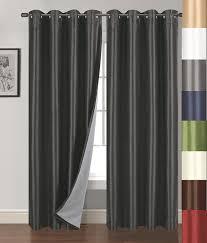 Burgundy Blackout Curtains Uk by Amazon Com Siena Home Fashions Buona Notte Blackout Curtain 54