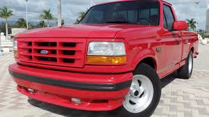 1995 Ford F150 SVT Lightning Pickup | W137 | Kissimmee 2017 1995 Ford F150 Reviews And Rating Motortrend 4x4 Totally Bed Liner Paint Job 4 Lift Custom Lighting Questions Is A 49l Straight 6 Strong Motor In The Two Toned Flareside Black Red Bashline Regular Cab Specs Photos Modification Info Gaa Classic Cars Xlt Pickup Truck Item C4338 Sold April 1 E350 Ambulance Used Truck Details Junkyard Tasure Tauruschero Pickup Autoweek Ford Trucks Ricks 95 F150 Xl Line
