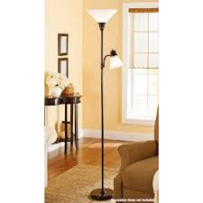 Mainstays Floor Lamp Assembly Instructions by Mainstays Oil Rubbed Bronze Combo Floor Lamp With Reading Light