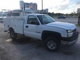 USED 2005 CHEVROLET SILVERADO SERVICE - UTILITY TRUCK FOR SALE IN FL ...