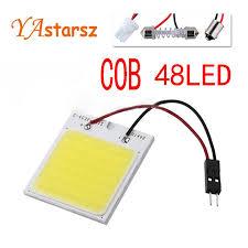 C5w cob 48 SMD chip 12 Watt super Weiß Leselampe led dome t10