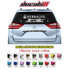 100 Custom Window Decals For Trucks 1 X Herbalife Sign Car Decal Sticker