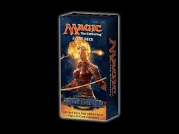 unboxing mtg m14 event deck rush of the wild youtube