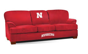 university of nebraska first team microfiber sofa products