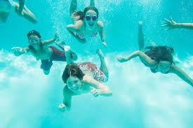 Kids 8 12 Swimming Underwater Image By C Isaac Lane Koval Corbis Outdoor Adventure Photographer Outdoors