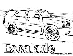 Cool Cars Coloring Pages To Print