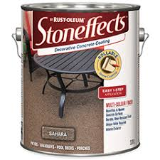 Rust Oleum Decorative Concrete Coating Applicator by Stoneffects Decorative Stone Coating Brand Page