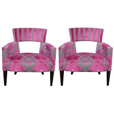Funky Pair Of Mid Century Modern Open Back Armchairs C.1960 At 1stdibs Having A Moment For Pink Blanc Affair Sweet Pink Armchairs Architecture Interior Design Pair Of Lvet By Guy Besnard 1960s Market Kubrick Fauteuil Met Vleugelde Rugleuning In Snoeproze Hot Armchair Modern Living Room Ideas Nytexas Armchairs For Cie 1962 Set 2 Lara Armchair Fern Grey Lotus Velvet Decorating And Interiors Large Patchwork Sage Floral Home Decor Midcentury Dusty 1950s Sale