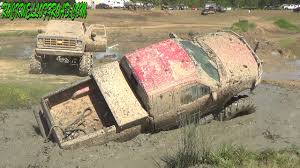 100 Ford Mud Truck FORD MUD TRUCK GOES DEEP AT MUD TRUCK MADNESS YouTube