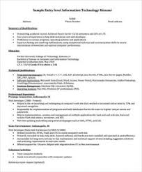 Entry Level Resume Examples For College Students Graduate
